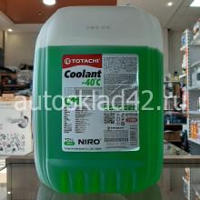 Антифриз TOTACHI NIRO Coolant -40 G-11 (зеленый) 10кг
