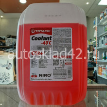 Антифриз TOTACHI NIRO Coolant -40 G-12+ (красный) 10кг
