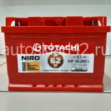 Аккумулятор TOTACHI NIRO 62Ah 12V 590-650A о/п (242*175*175) Ca/Ca низкий