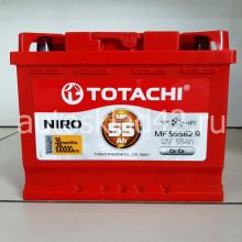 Аккумулятор TOTACHI NIRO 55Ah 12V 450-505A п/п (242*175*190) Ca/Ca