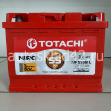 Аккумулятор TOTACHI NIRO 55Ah 12V 450-505A о/п (242*175*190) Ca/Ca