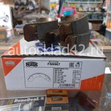 Тормозные колодки задние NIBK FN9967