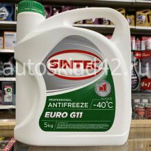 Антифриз SINTEC EURO G-11 -40 (зеленый) 5кг