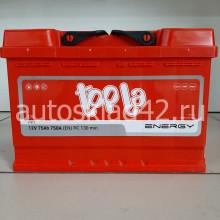 Аккумулятор TOPLA Energy 75Ah 12V 750A о/п (278*175*190)