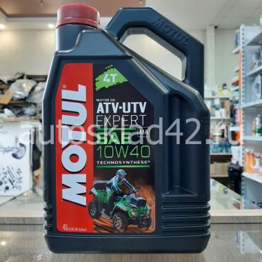 Масло для 4-х тактных двигателей MOTUL MOTO ATV-UTV Expert 10W-40 4л