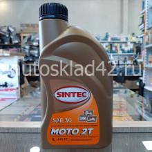 Масло для 2-х тактных двигателей SINTEC MOTO 2T SAE 30 1л