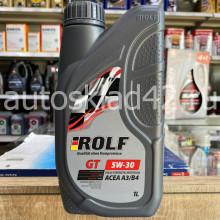 Масло моторное ROLF GT SN/CF 5W-30 4л акция 1л бесплатно