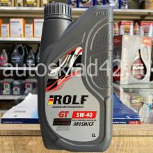 Масло моторное ROLF GT SN/CF 5W-40 4л акция 1л бесплатно