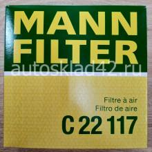 Фильтр воздушный MANN C22117