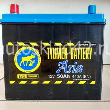Аккумулятор ТЮМЕНЬ ASIA 50Ah 12V 440A п/п (236*128*223) Ca/Ca