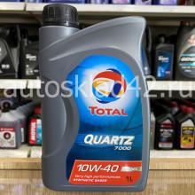 Масло моторное TOTAL Quartz 7000 DIESEL 10W-40 1л