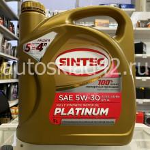 Масло моторное SINTEC Platinum SN/CF 5W-30 5л