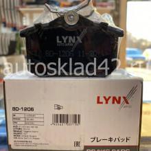 Тормозные колодки задние LYNXauto BD-1206