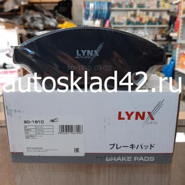 Тормозные колодки передние LYNXauto BD-1810