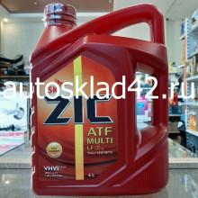 Масло для АКПП ZIC ATF MULTI LF 4л