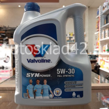 Масло моторное VALVOLINE SYNPOWER 5W-30 4л