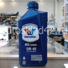 Масло моторное VALVOLINE ALL CLIMATE 5W-40 1л