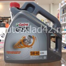 Масло моторное Castrol GTX 5W-40 A3/B4 4л