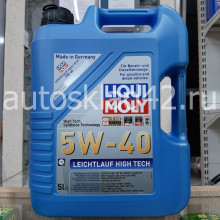 Масло моторное LIQUI MOLY Leichtlauf High Tech SN 5W-40 5л