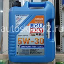 Масло моторное LIQUI MOLY Leichtlauf High Tech LL SL/CF 5W-30 5л