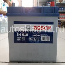 Аккумулятор BOSCH 0092S40180 40Ah 12V 330A о/п (187*127*227)