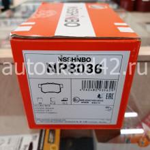 Тормозные колодки задние NISSHINBO NP8036