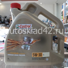 Масло моторное Castrol Edge 5W-30 LL 4л