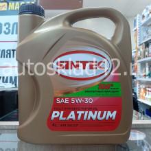 Масло моторное SINTEC Platinum SN/CF 5W-30 4л